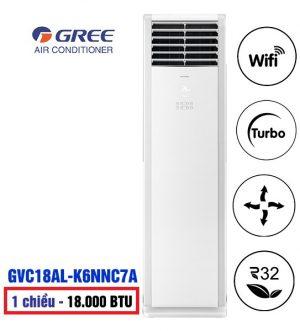 Điều hòa tủ đứng Gree T-Fresh GVC18AL-K6NNC7A 18000btu 1 chiều