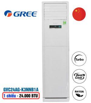 Điều hòa tủ đứng Gree GVC24AG-K3NNB1A 24000btu 1 chiều