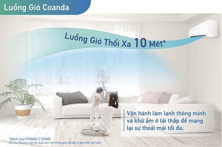 dieu-hoa-daikin-FTHF35VAVMV-luong-gio-coanda-thoi-xa-10m