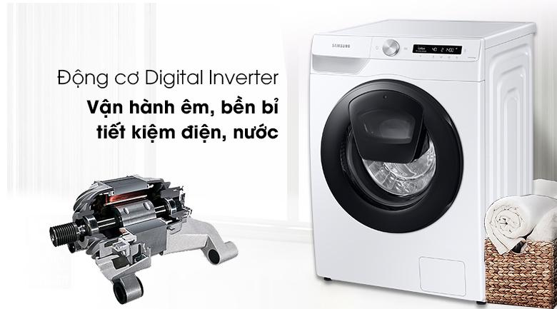 Máy giặt WW85T554DAW/SV, tiết kiệm điện, chống rung