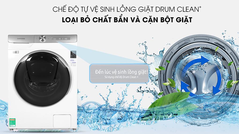 Máy giặt WW90TP54DSH/SV, tự vệ sinh lồng giặt