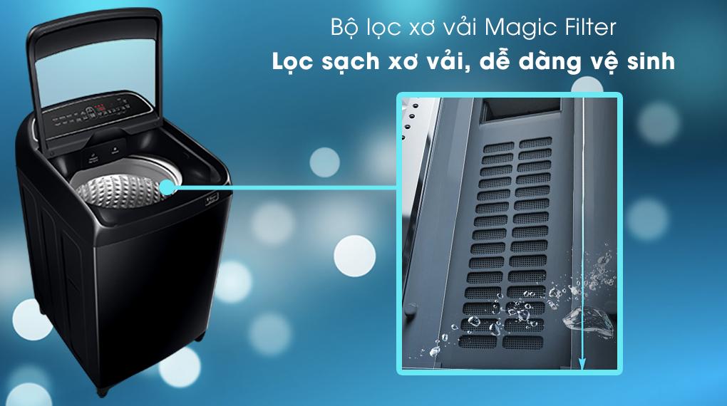 Máy giặt Samsung WA11T5260BV/SV, bộ lọc sơ vải hiệu quả