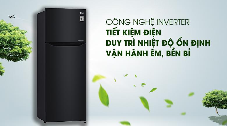 Tủ lạnh LG 209 lít Smart Inverter GN-B222WB, inverter tiết kiệm điện