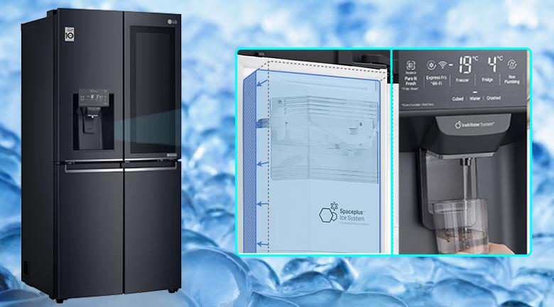 Tủ lạnh LG GR-X22MC inverter 496 lít, lấy nước bên ngoài tiện lợi