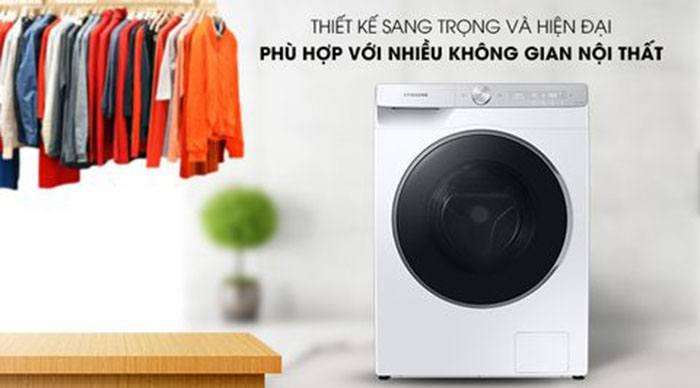 Máy giặt lồng ngang Samsung WW10TP54DSH/SV AI Inverter 10kg