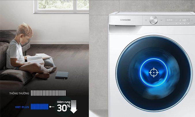 Máy giặt WW85T4040CE/SV, chống rung ồn