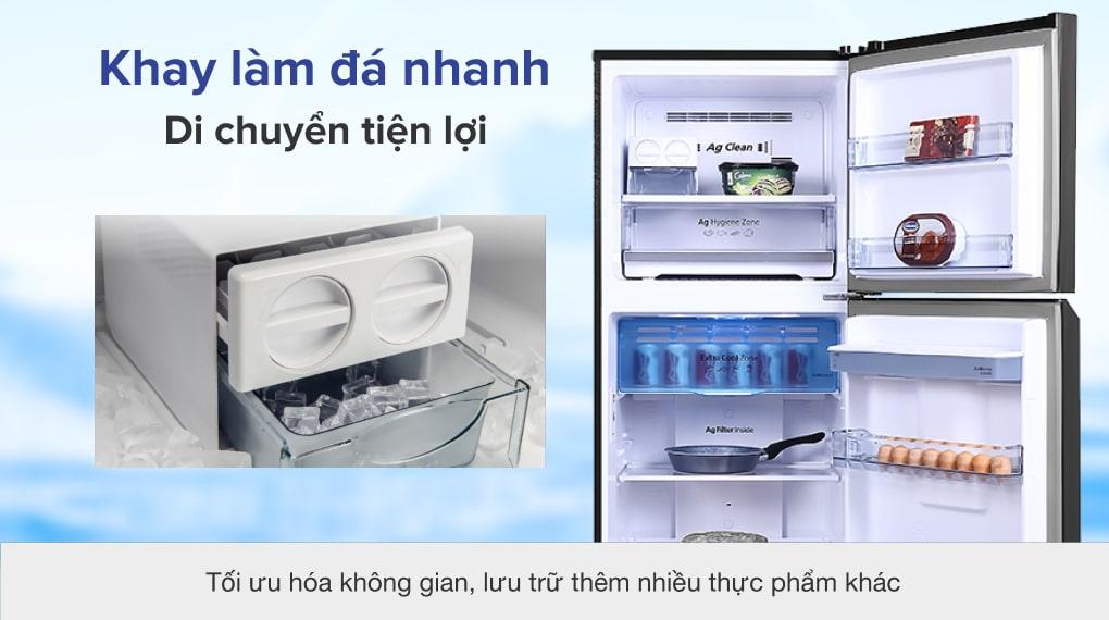 Tủ lạnh Panasonic NR-TL381GPKV Inverter 366L, làm đá nhanh