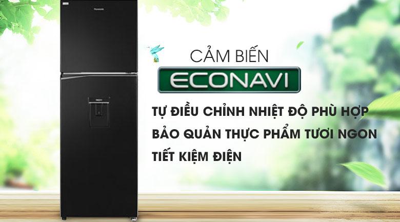 Tủ lạnh Panasonic NR-BL381WKVN 366L inverter, tiết kiệm điện