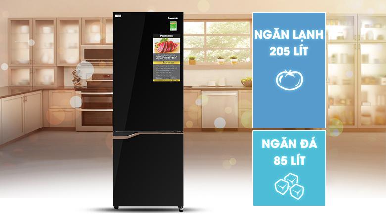 Tủ lạnh Panasonic Inverter 290 lít NR-BV320GKVN, hiện đại