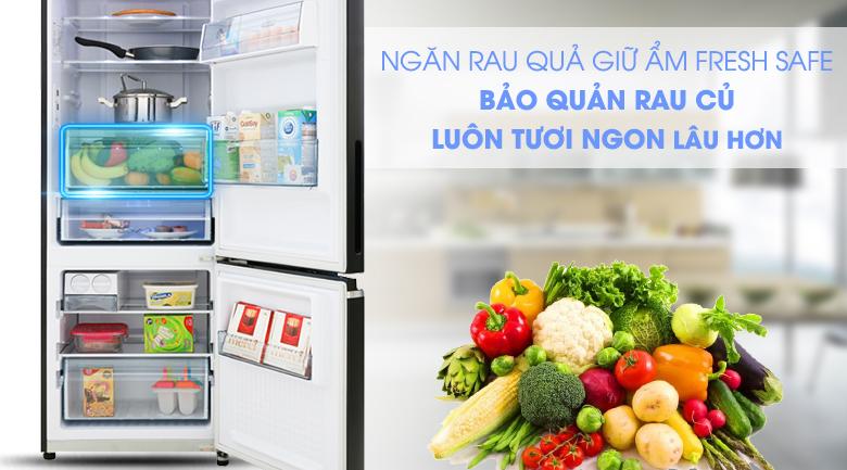 Tủ lạnh Panasonic Inverter 290 lít NR-BV320GKVN, ngăn rau quả giữ ẩm