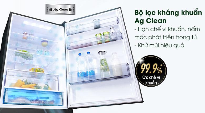 Tủ lạnh Panasonic Inverter 368L NR-BX410GKVN, diệt khuẩn