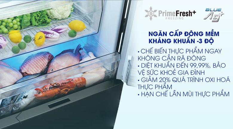 Tủ lạnh Panasonic Inverter 368L NR-BX410GKVN, ngăn đông mềm