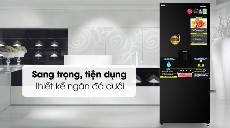 Tủ lạnh Panasonic NR-BX421GPKV Inverter 377L, sang trọng