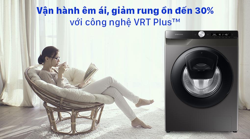 Máy giặt Samsung WW85T554DAX/SV lồng ngang 8.5Kg, vận hành êm ái