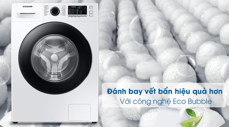 Máy giặt Samsung WW10TA046AE/SV, công nghệ giặt bong bóng