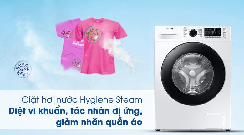 Máy giặt Samsung WW10TA046AE/SV, giặt hơi nước nóng