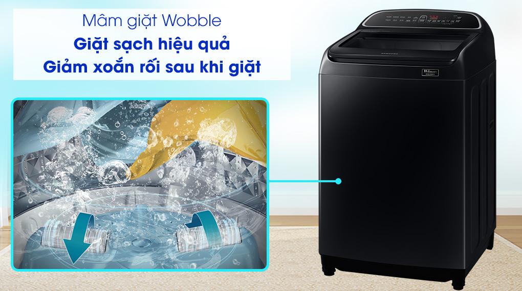 Máy giặt Samsung WA11T5260BV/SV, mâm giặt Wobble
