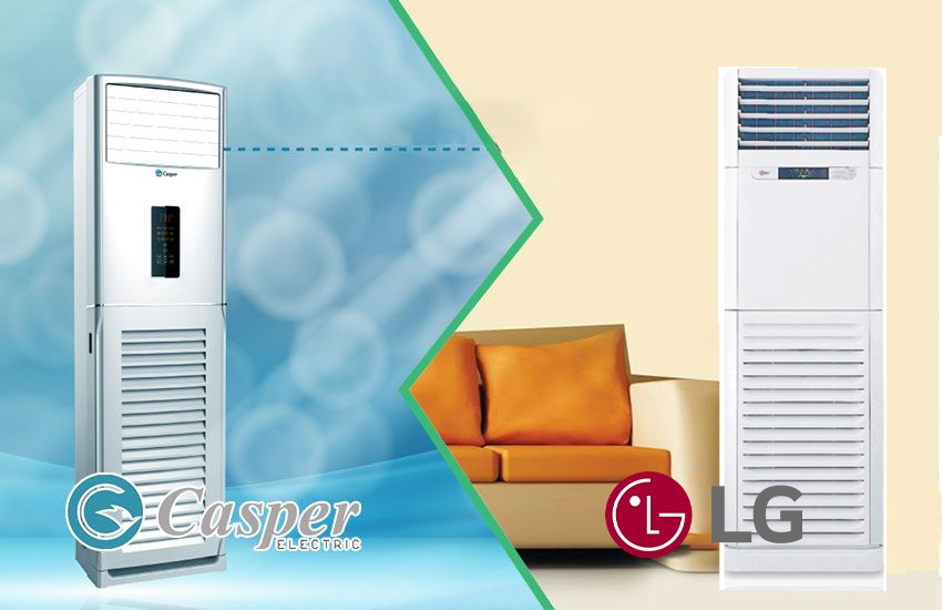 Giữa điều hòa cây Casper và LG – điều hòa tủ đứng nào nên mua hơn ?
