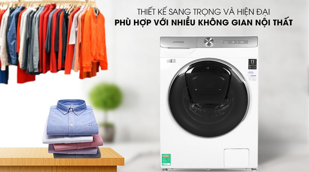 Máy giặt Samsung WW90TP54DSH/SV lồng ngang Inverter 9Kg
