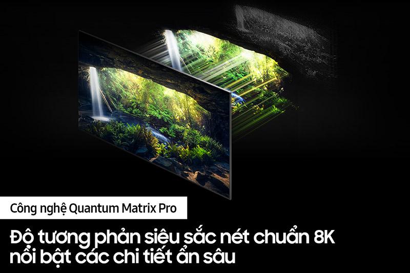 công nghệ đèn nền Quantum Mini Led