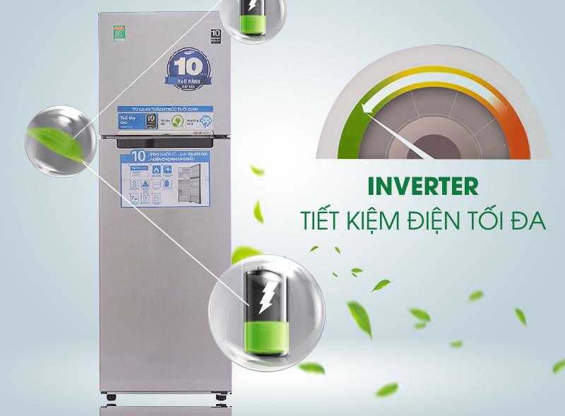 Tủ lạnh Samsung RT25HAR4DSA/SV 255 lít, tiết kiệm điện