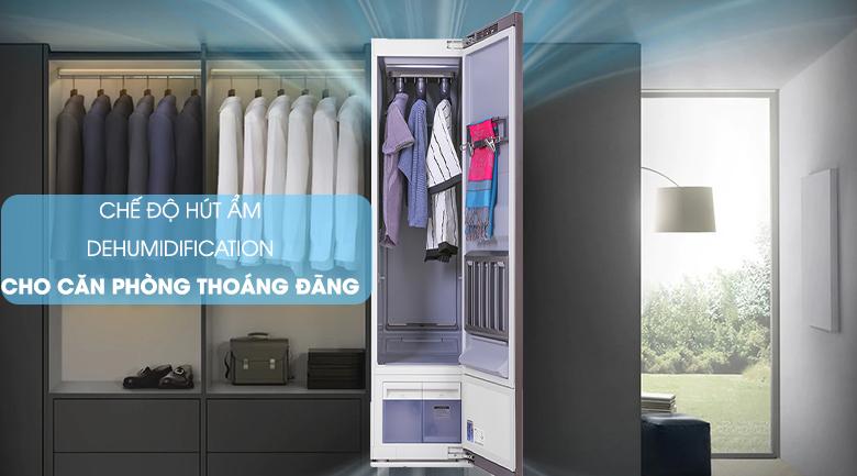 Tủ chăm sóc quần áo Samsung DF60R8600CG/SV, hút ẩm