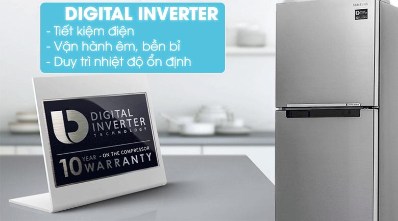 Tủ lạnh Samsung RT29K5012S8/SV 299 lítinverter tiết kiệm điện