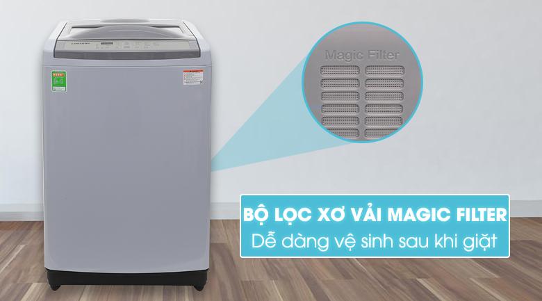 Máy giặt Samsung WA90M5120SG/SV, bộ lọc xơ vải