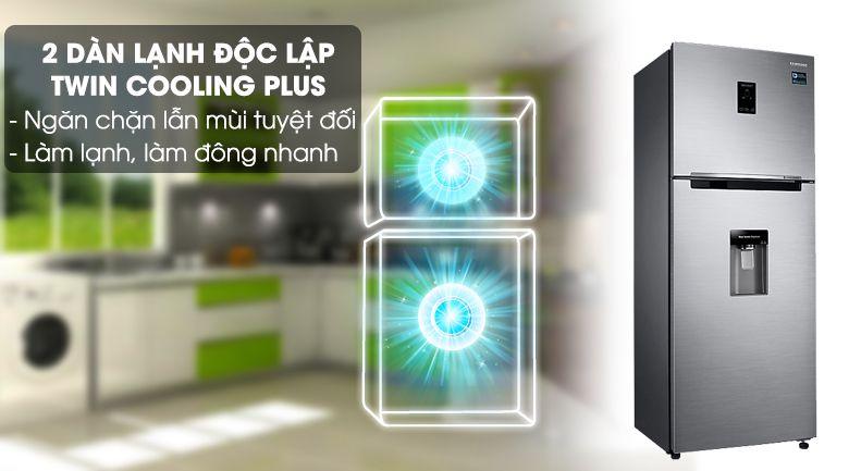 Tủ lạnh Samsung RT32K5932S8/SV, 2 dàn lạnh độc lập