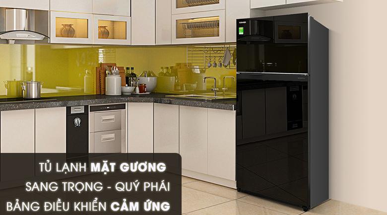 Tủ lạnh Toshiba Inverter 608 lít GR-AG66VA (XK), sang trọng
