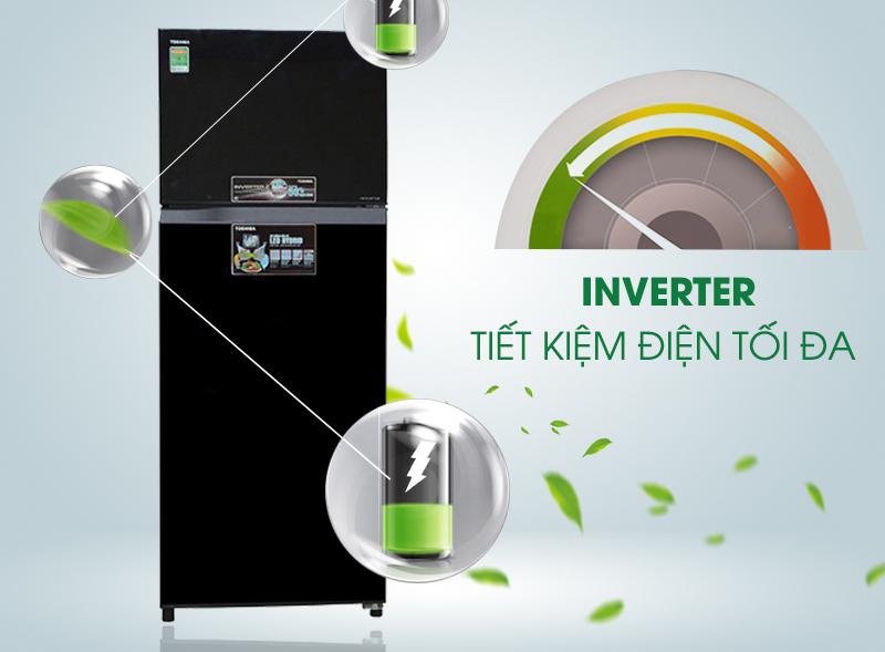 Tủ lạnh Toshiba GR-AG46VPDZ XG 409 Lít inverter, tiết kiệm