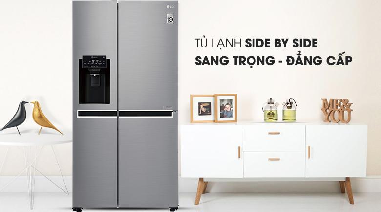 Tủ lạnh LG 601 lít GR-D247JDS Inverter, sang trọng