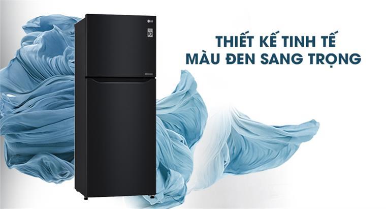 Tủ lạnh LG 209 lít Smart Inverter GN-B222WB, sang trọng tinh tế
