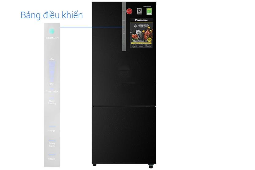 Tủ lạnh Panasonic NR-BX410QKVN Inverter 368L, sang trọng
