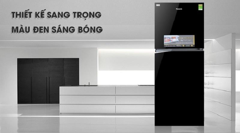Tủ lạnh Panasonic thiết kế sang trọng