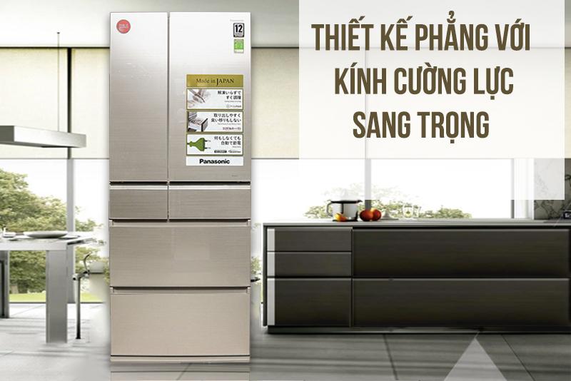 Tủ lạnh Panasonic NR-F603GT-N2 Inverter 589 lít, sang trọng