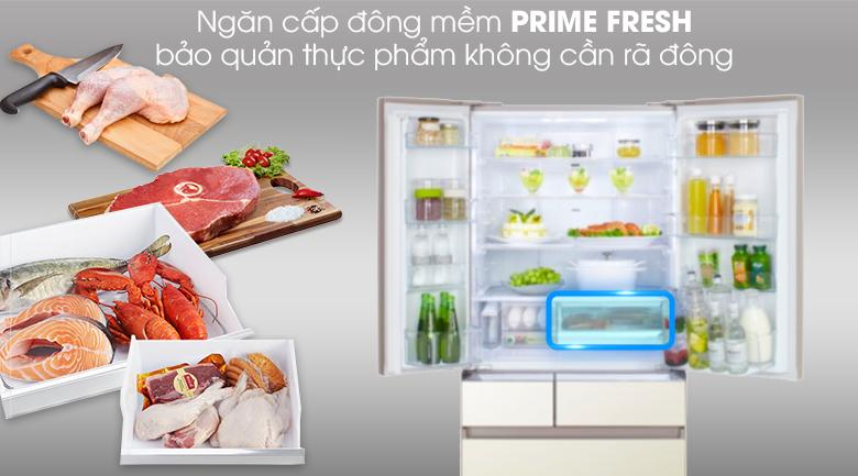 Tủ lạnh Panasonic NR-F603GT-N2 Inverter 589 lít, ngăn đông mềm