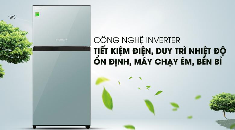 Tủ Lạnh TOSHIBA GR-AG58VA(X) Inverter 555 Lít, tiết kiệm điện