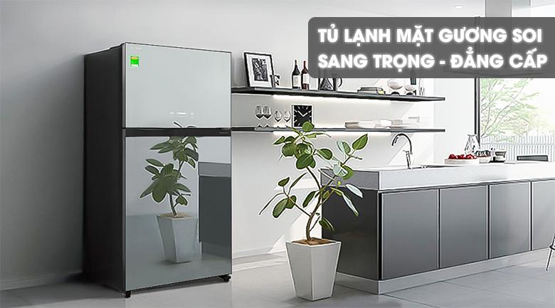 Tủ Lạnh TOSHIBA GR-AG58VA(X) Inverter 555 Lít, sang trọng