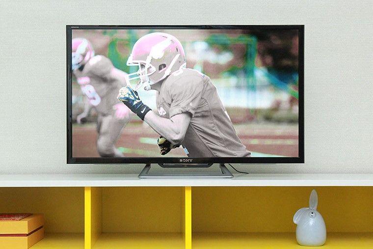 Hình ảnh tivi không có màu
