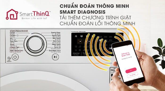 Máy giặt LG Smart Diagnosis