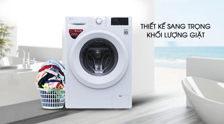 Máy giặt LG thiết kế sang trọng - hiện đại