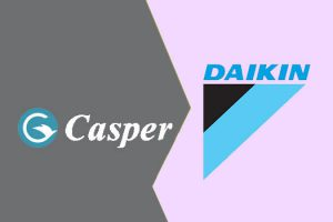 So sánh điều hòa Daikin và điều hòa Casper