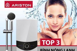 Top 3 bình nóng lạnh Ariston bán chạy nhất hiện nay