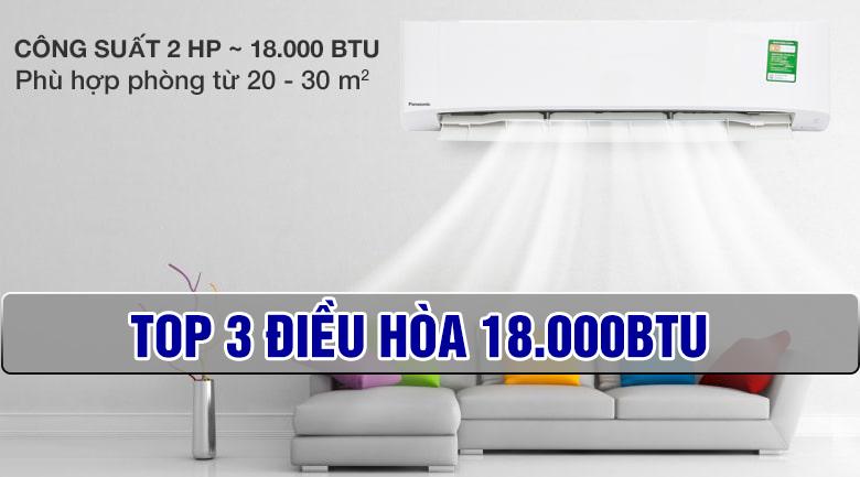Top 3 điều hòa 18000btu bán chạy nhất tại Thịnh Phát