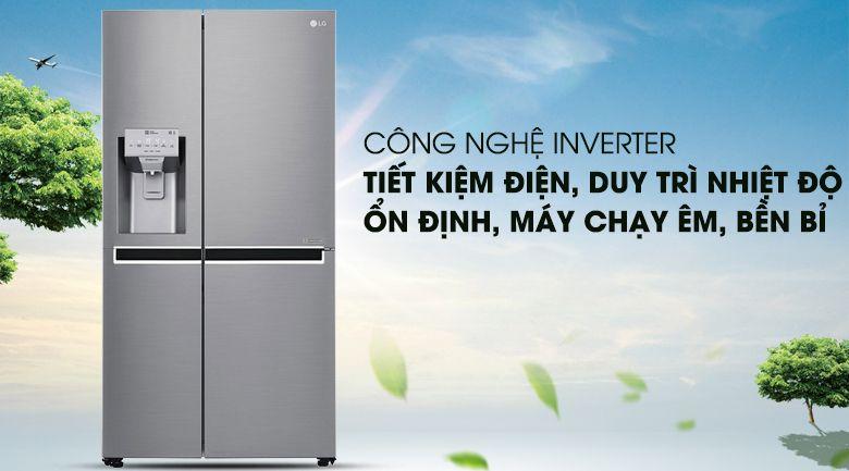 Tủ lạnh LG chạy rất êm và bền