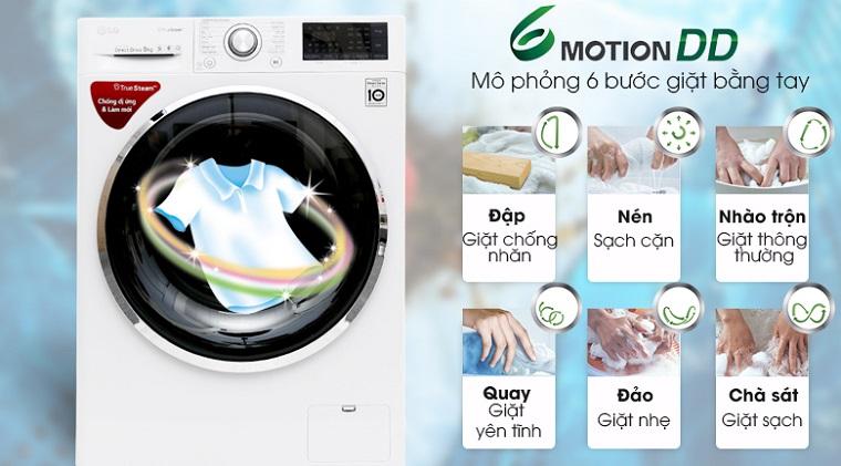 công nghệ giặt 6 Motion DD là gì