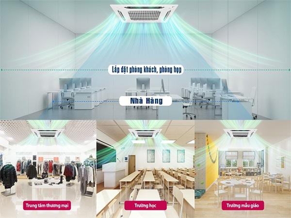 điều-hòa-âm-trần-LG-LG ATNQ24GPLE7-thiết-kế-hiện-đại