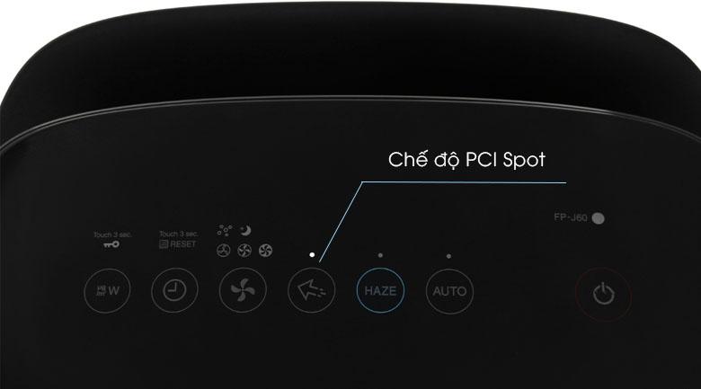 PCI Spotngăn ngừa nấm mốc, Máy lọc không khí Sharp FP-J60E-W