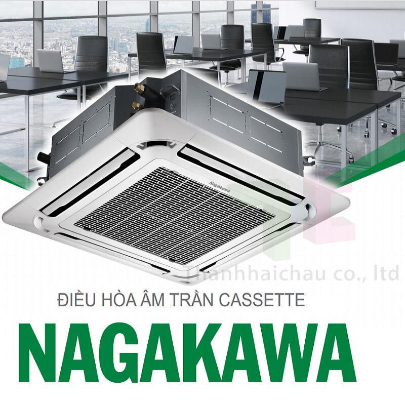Điều hòa cassette âm trần Nagakawa NT-A28R1M03, sang trọng